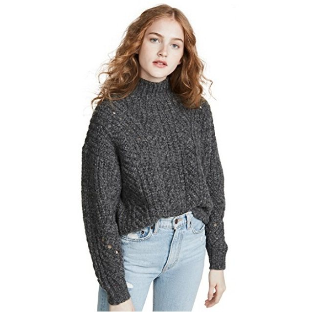 IRO Venati 灰色毛衣 7.2(约1,927元) - 海淘优惠海淘折扣|55海淘网