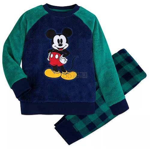 Disney 迪士尼 米奇男孩睡衣套装 (约125元) - 海淘优惠海淘折扣|55海淘网