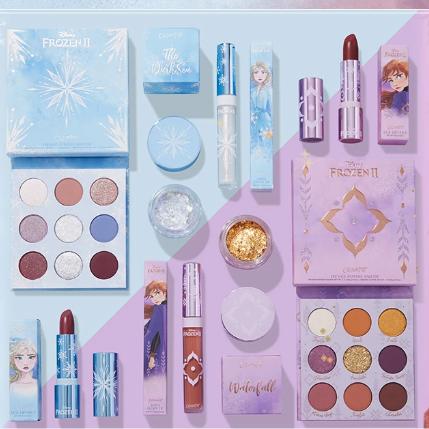 Colourpop 美国官网:精选迪士尼公主、冰雪奇缘系列促销