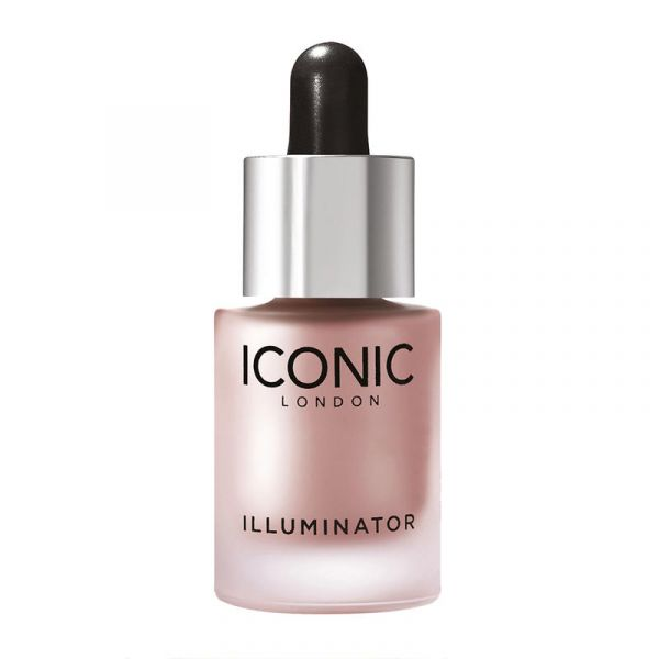 【8折+满£75减£5】 ICONIC  多用滴管高光液 13.5ml #Shine (Pink Pearl)
