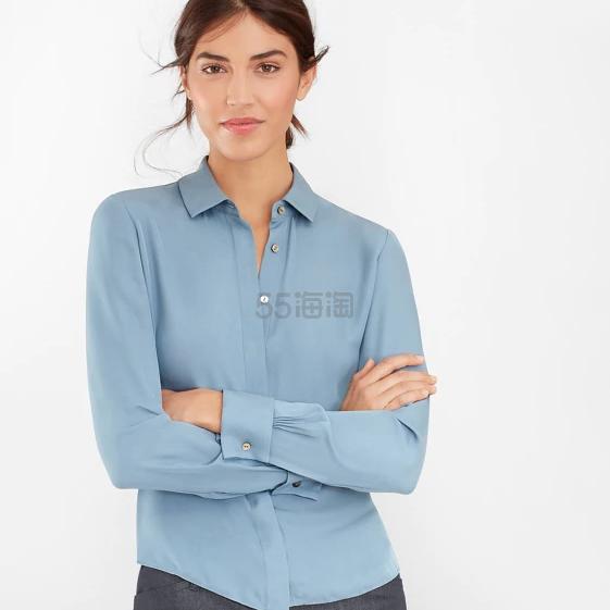 Brooks Brothers 真丝基础款气质衬衫 8.8(约1,032元) - 海淘优惠海淘折扣|55海淘网