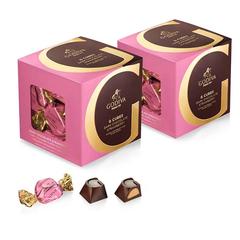 Godiva 歌帝梵 草莓黑巧克力立方盒 2件 22颗/件