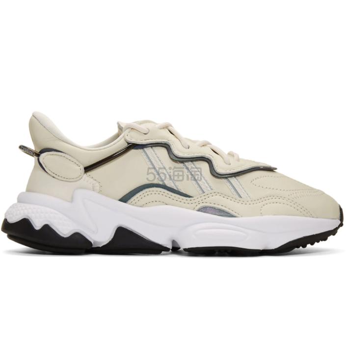 adidas Originals Ozweego 奶油白色运动鞋 0(约835元) - 海淘优惠海淘折扣|55海淘网