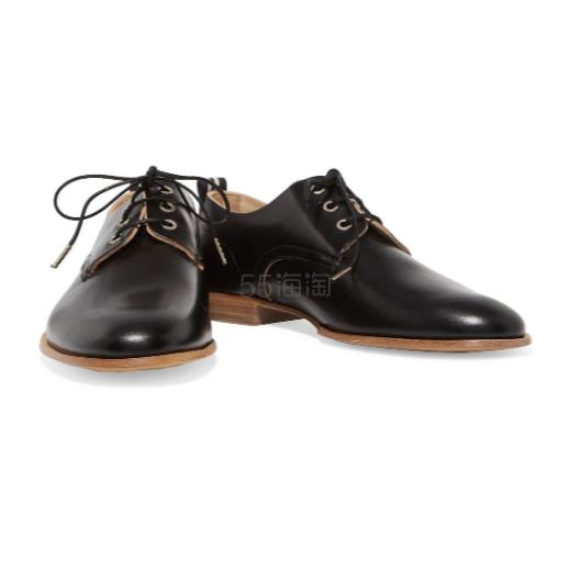 Rag & Bone Audrey 皮革布洛克鞋 (约682元) - 海淘优惠海淘折扣|55海淘网