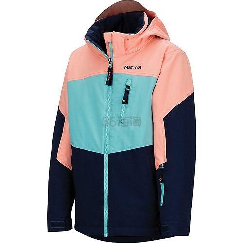 【8折+高返12%】3色码全~Marmot 土拨鼠 Elise 女童滑雪夹克 4(约863元) - 海淘优惠海淘折扣|55海淘网