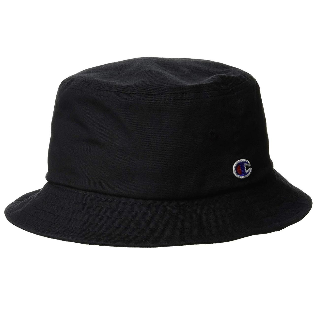好价!【亚马逊海外购】Champion 日版潮流logo渔夫帽 黑色