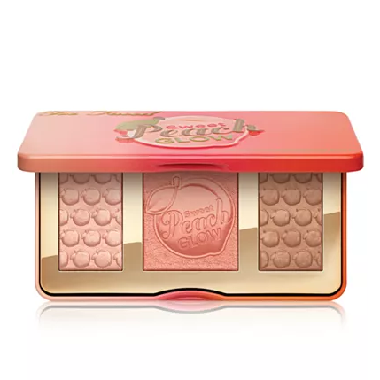 Too Faced 桃子系列修容高光腮红多用盘