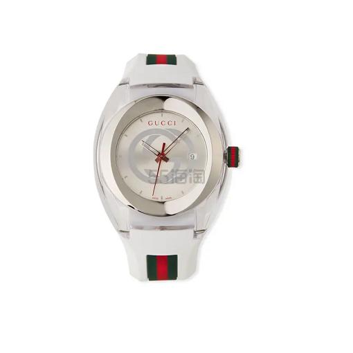 Gucci 白色运动手表