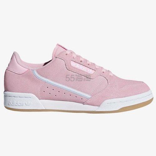 adidas Originals 三叶草 Continental 80 女子板鞋 .99(约258元) - 海淘优惠海淘折扣 55海淘网
