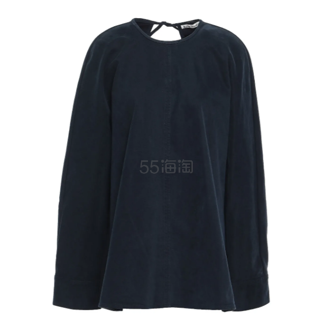 Acne Studios Cotton-blend sateen tunic 长袖T恤 (约627元) - 海淘优惠海淘折扣|55海淘网