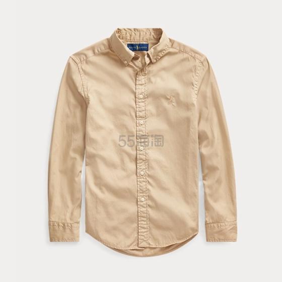 需凑单!Ralph Lauren 拉夫劳伦 Cotton Twill Shir 衬衫 .77(约159元) - 海淘优惠海淘折扣|55海淘网