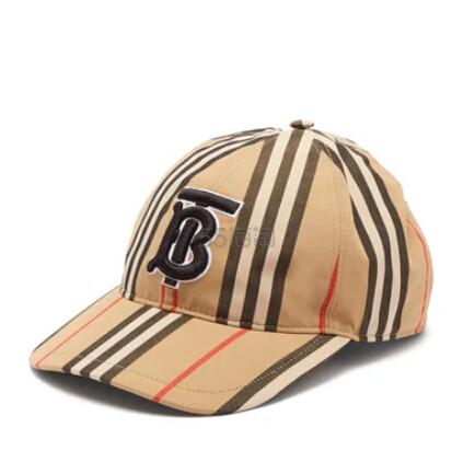 BURBERRY 巴宝莉经典条纹棒球帽 €185(约1,440元) - 海淘优惠海淘折扣 55海淘网
