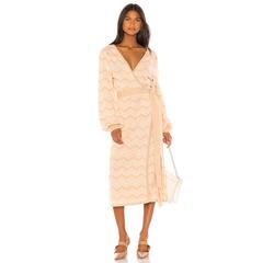 House of Harlow 1960 针织罩衫裹身裙
