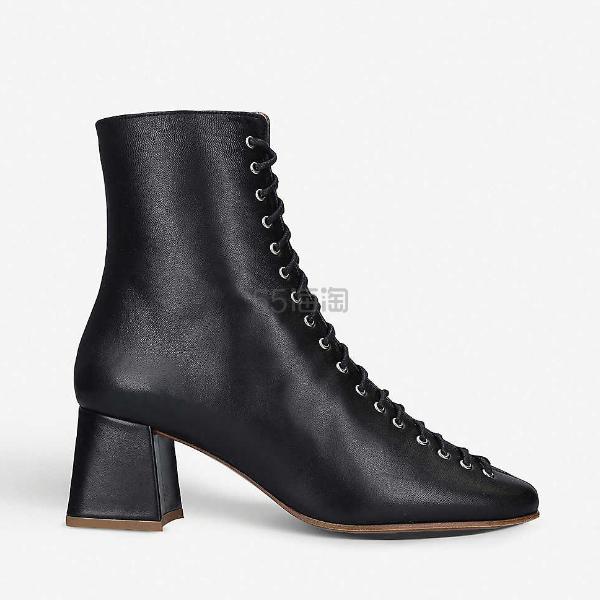 BY FAR Becca 高跟皮靴