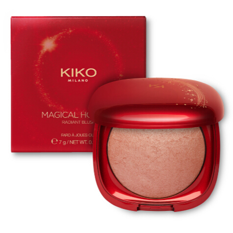 KIKO MAGICAL HOLIDAY RADIANT BLUSH 30% OFF