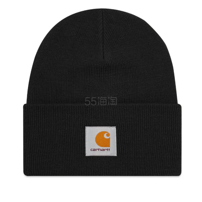 CARHARTT WIP 黑色毛线帽 £15.2(约137元) - 海淘优惠海淘折扣 55海淘网