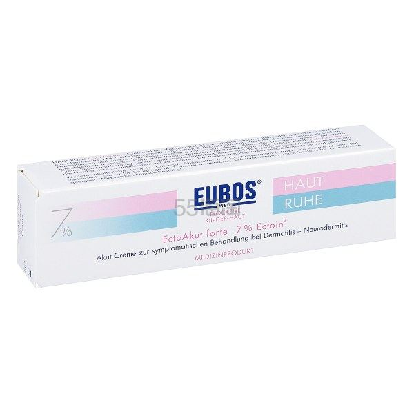 【免运费】Eubos 仪宝 7%依克多因 婴幼儿急性皮炎膏 30ml
