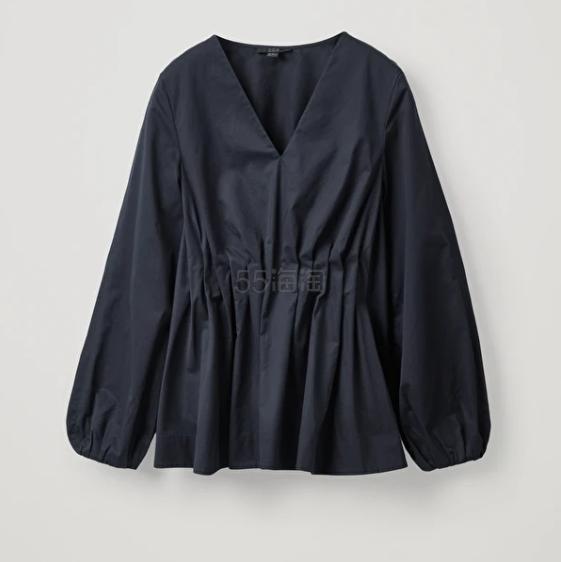 COS 藏青色上衣 (约690元) - 海淘优惠海淘折扣 55海淘网