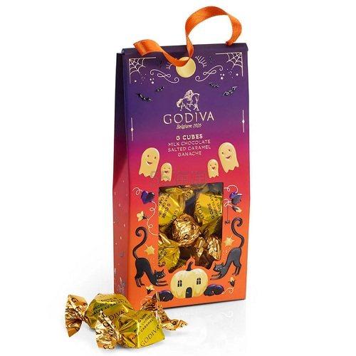 Godiva 歌帝梵 万圣节巧克力松露小袋装 10颗 .98(约35元) - 海淘优惠海淘折扣 55海淘网