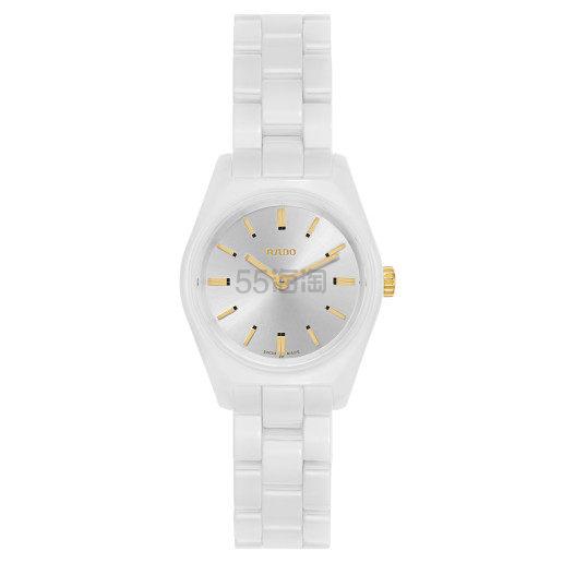 近期低价!Rado 雷达表 Specchio 系列 白色陶瓷女士气质腕表 R31509112 9(约1,315元) - 海淘优惠海淘折扣 55海淘网