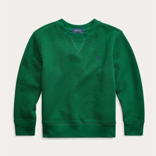 【2019黑五】Ralph Lauren 拉夫劳伦 Cotton-Blend-Fleece Sweatshirt  2-7岁卫衣