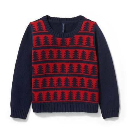 Janie and Jack TREE PULLOVER 童款毛衣
