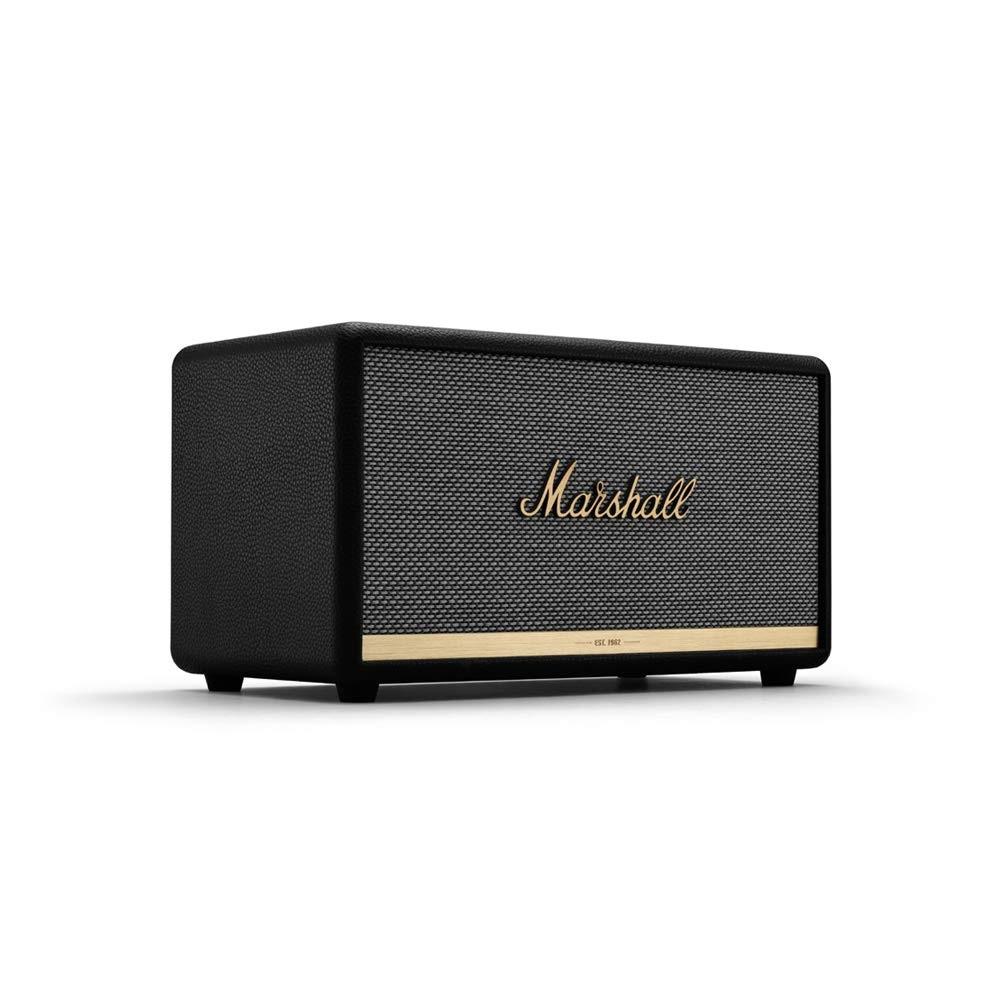 近期低价!Marshall 马歇尔 Stanmore II 第二代无线蓝牙音箱 黑色