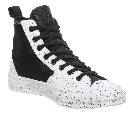 Converse All Star Hi 70s 黑白配色高帮帆布鞋