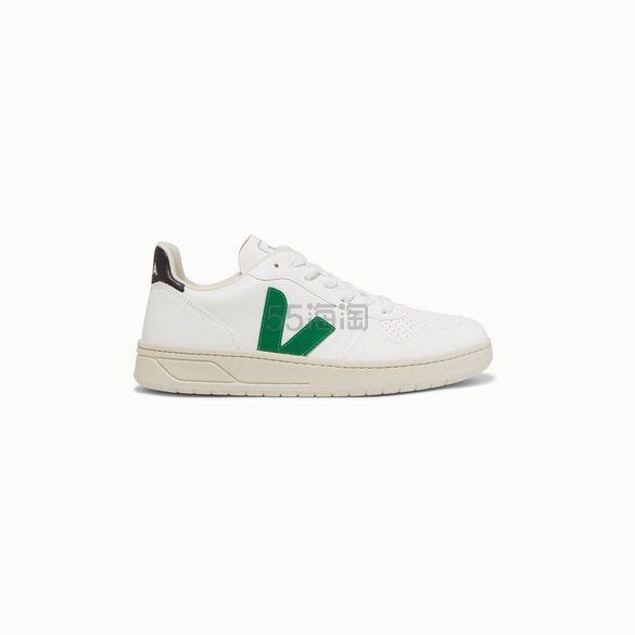 VEJA V-10 Bastille 纯素皮革运动鞋 £80.5(约731元) - 海淘优惠海淘折扣|55海淘网