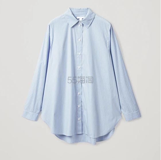 COS 宽松条纹衬衫 (约515元) - 海淘优惠海淘折扣|55海淘网