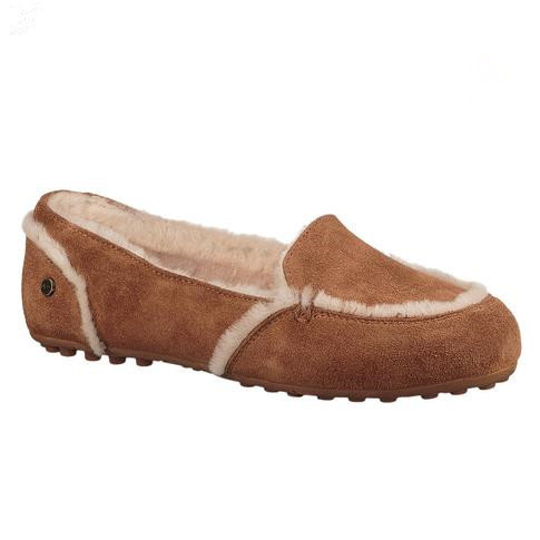 【额外7折】UGG Hailey Moccasin 女子加绒平底鞋