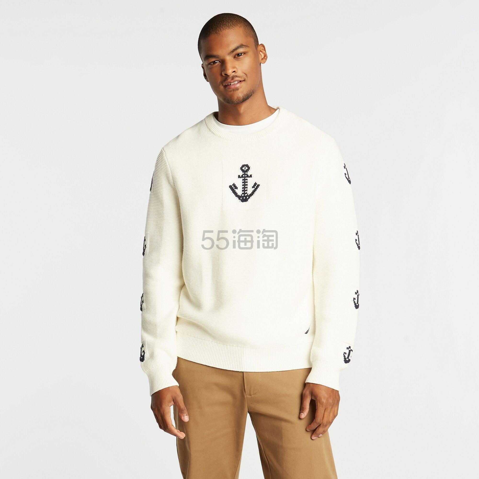 Nautica 基础 Logo 男士针织衫毛衣 .2(约273元) - 海淘优惠海淘折扣|55海淘网