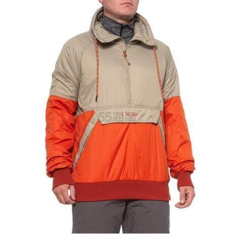 码全~Marmot 土拨鼠 Lynx Anorak 男款连帽抽绳卫衣夹克