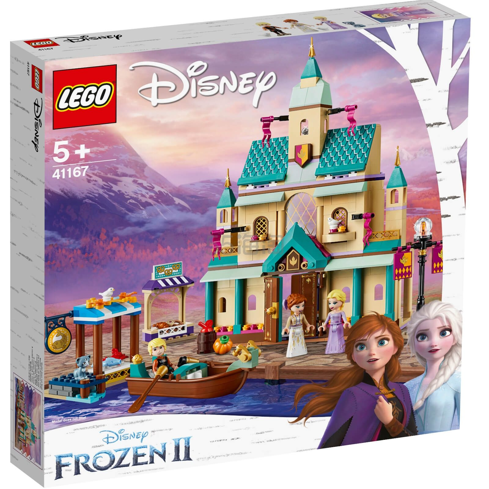 LEGO 乐高 迪士尼系列 阿伦戴尔城堡村庄 (41167) £59.99(约544元) - 海淘优惠海淘折扣|55海淘网
