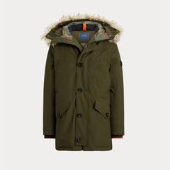 Ralph Lauren 拉夫劳伦 Faux-Fur-Trim 羽绒派克大衣