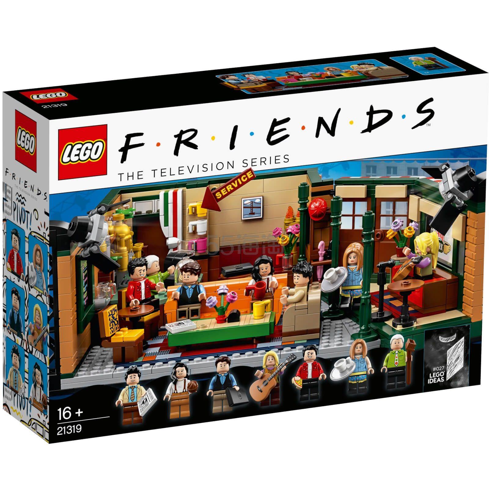 LEGO 乐高 IDEAS系列 老友记 中央咖啡馆 (21319) £59.99(约545元) - 海淘优惠海淘折扣|55海淘网
