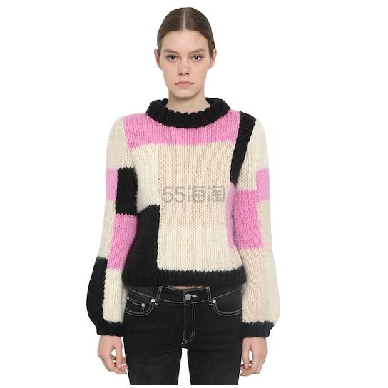 GANNI 手工针织羊毛毛衣 4.6(约1,842元) - 海淘优惠海淘折扣|55海淘网