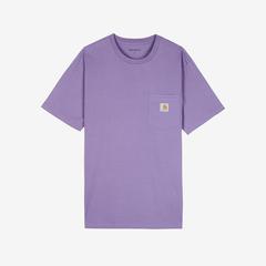 凑2单额外7.5折!Carhartt WIP 紫色短袖