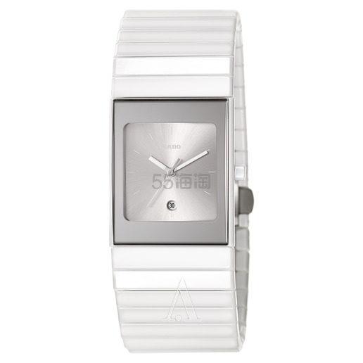 Rado 雷达表 Ceramica 系列 白色女士陶瓷腕表 R21982102 9(约2,429元) - 海淘优惠海淘折扣 55海淘网