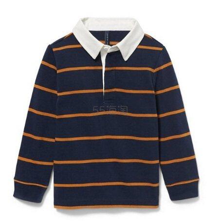 Janie and Jack 童款条纹长袖T恤衫 .39(约155元) - 海淘优惠海淘折扣|55海淘网