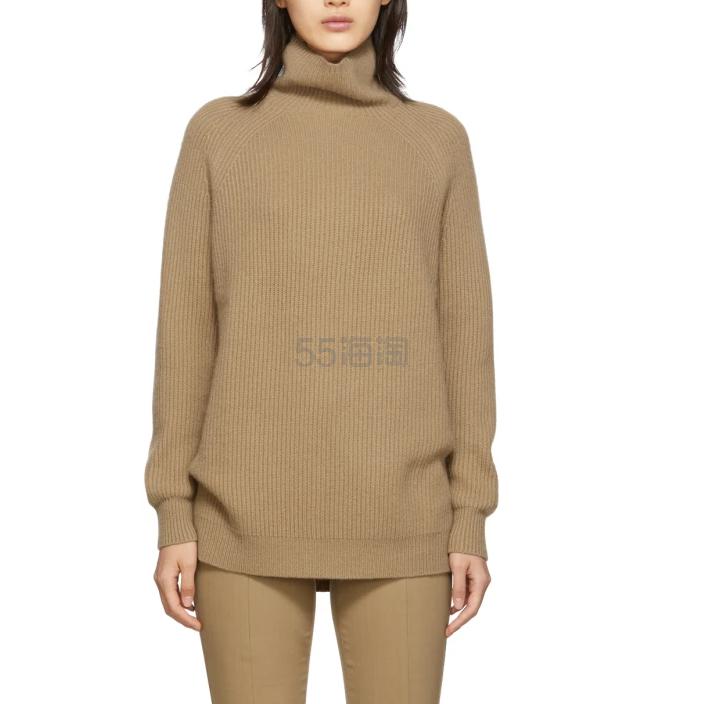 Max Mara 棕色高领毛衣 4(约4,977元) - 海淘优惠海淘折扣|55海淘网
