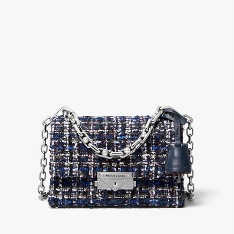 MICHAEL MICHAEL KORS Cece Medium Tweed Shoulder Bag