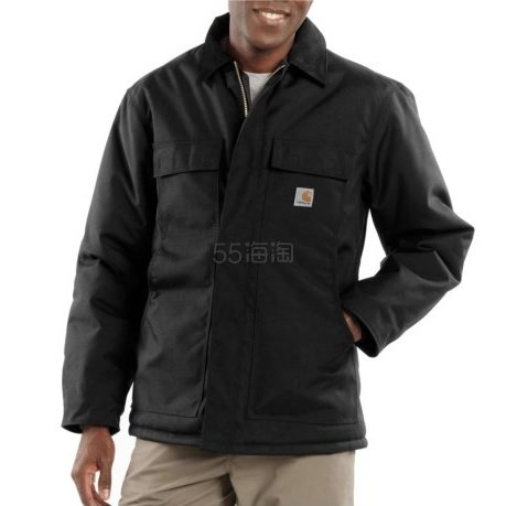 Carhartt C55 Yukon 男士尼龙工装夹棉夹克 L码 .99(约559元) - 海淘优惠海淘折扣|55海淘网