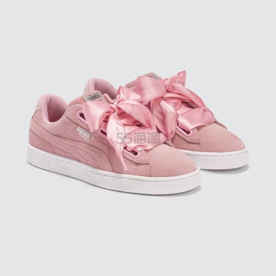 【大表姐同款】Puma  Basket Heart  彪马粉色运动鞋 .4(约352元) - 海淘优惠海淘折扣|55海淘网