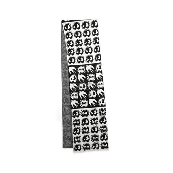 McQ 麦昆 Mini Swallow 羊毛嵌花围巾 ¥1,403 - 海淘优惠海淘折扣|55海淘网