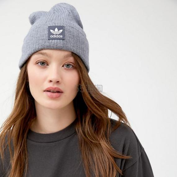 adidas Originals 阿迪达斯三叶草 Rib II Beanie 毛线帽 .2(约127元) - 海淘优惠海淘折扣|55海淘网