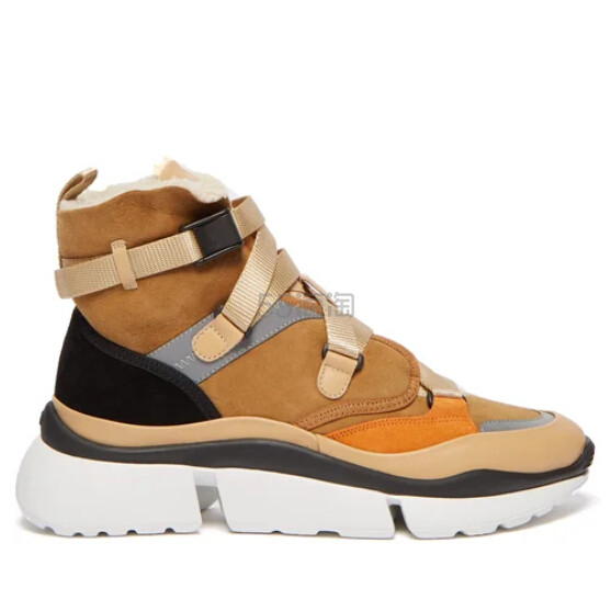 CHLOÉ Sonnie 女士高帮运动鞋 €276(约2,160元) - 海淘优惠海淘折扣|55海淘网