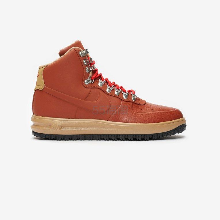 Nike Sportswear Lunar Force 1 橘色高帮运动鞋 8.3(约826元) - 海淘优惠海淘折扣|55海淘网