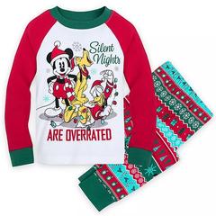 Disney 迪士尼 米奇男孩节日睡衣套装