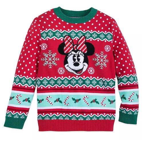 Disney 迪士尼 假日米妮女孩毛衣 .78(约117元) - 海淘优惠海淘折扣|55海淘网